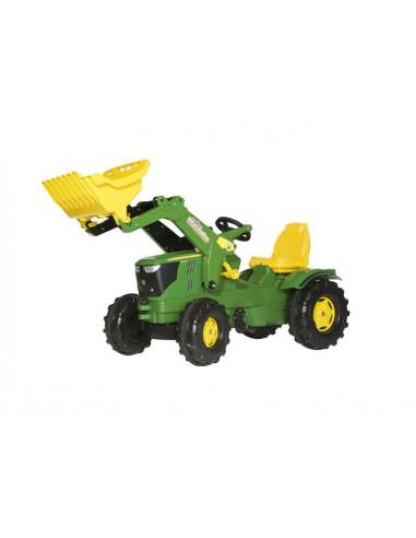 Tracteur à pédales avec chargeur John Deere